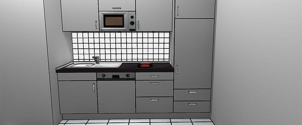 Kaffe-Küchen Entwurf bei Küchen-Schreiner-Meier