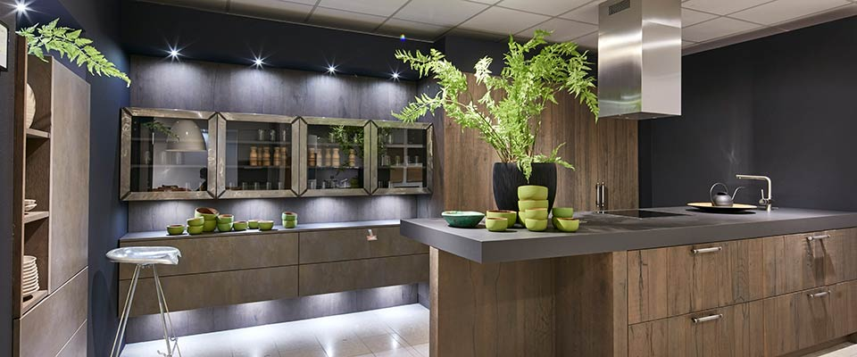 Küchen-Schreiner-Meier Landhaus - New Castle - Stil - OAK-Line Cemento Bronze